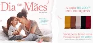 Promoção Dia das Mães 2019 SP Market Shopping