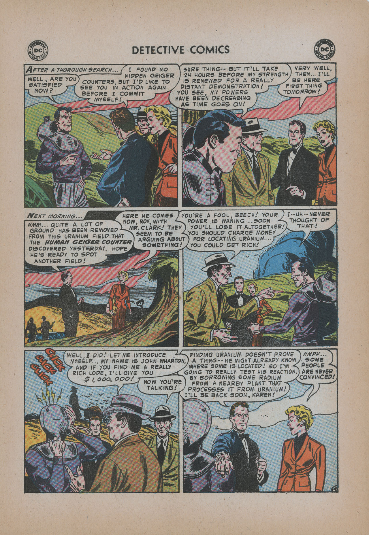 Read online Detective Comics (1937) comic -  Issue #221 - 31