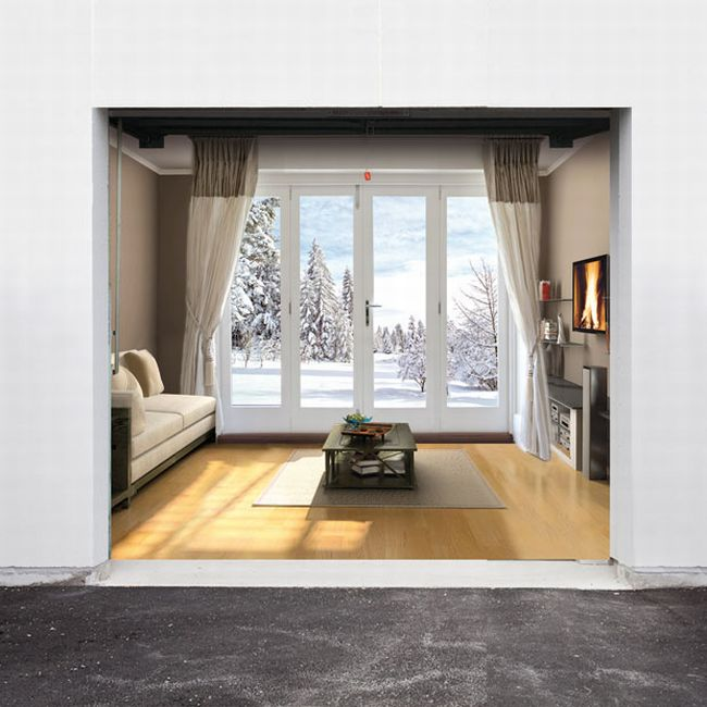 Style Your Garage Doors For The Christmas Season