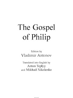 The Gospel of Philip by Vladimir Antonov PDF Book Download