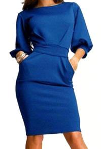 www.shein.com/Half-Sleeve-With-Belt-Slim-Blue-Dress-p-235074-cat-1727.html?aff_id=2525