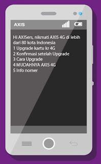Cara Upgrade Kartu Axis 4G Mudah Aman