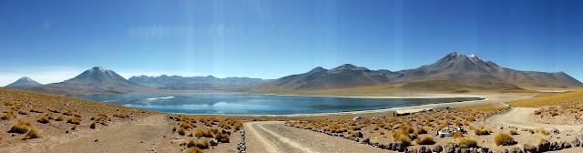 Laguna Misti, la más grande de las dos lagunas altiplánicas