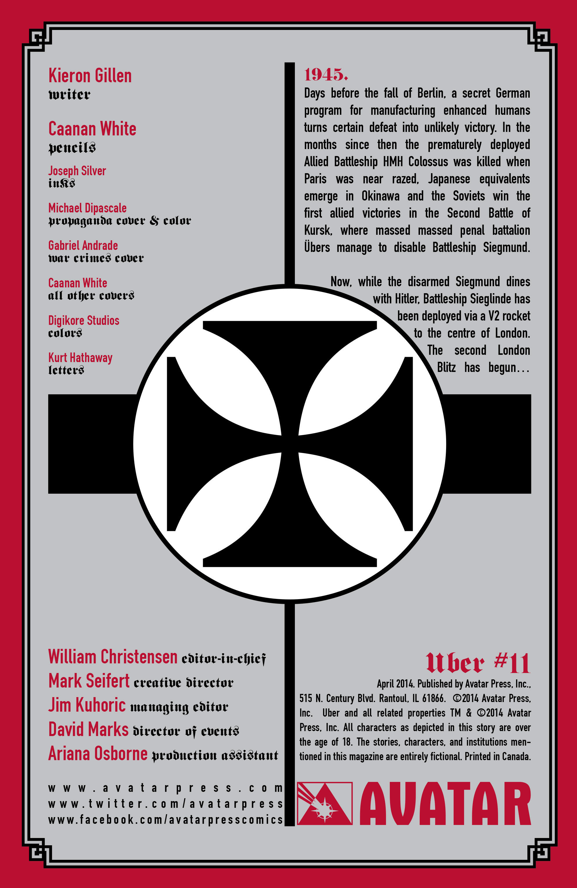 Read online Uber comic -  Issue #11 - 5