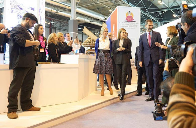 FITUR International Tourism Fair opening at Ifema