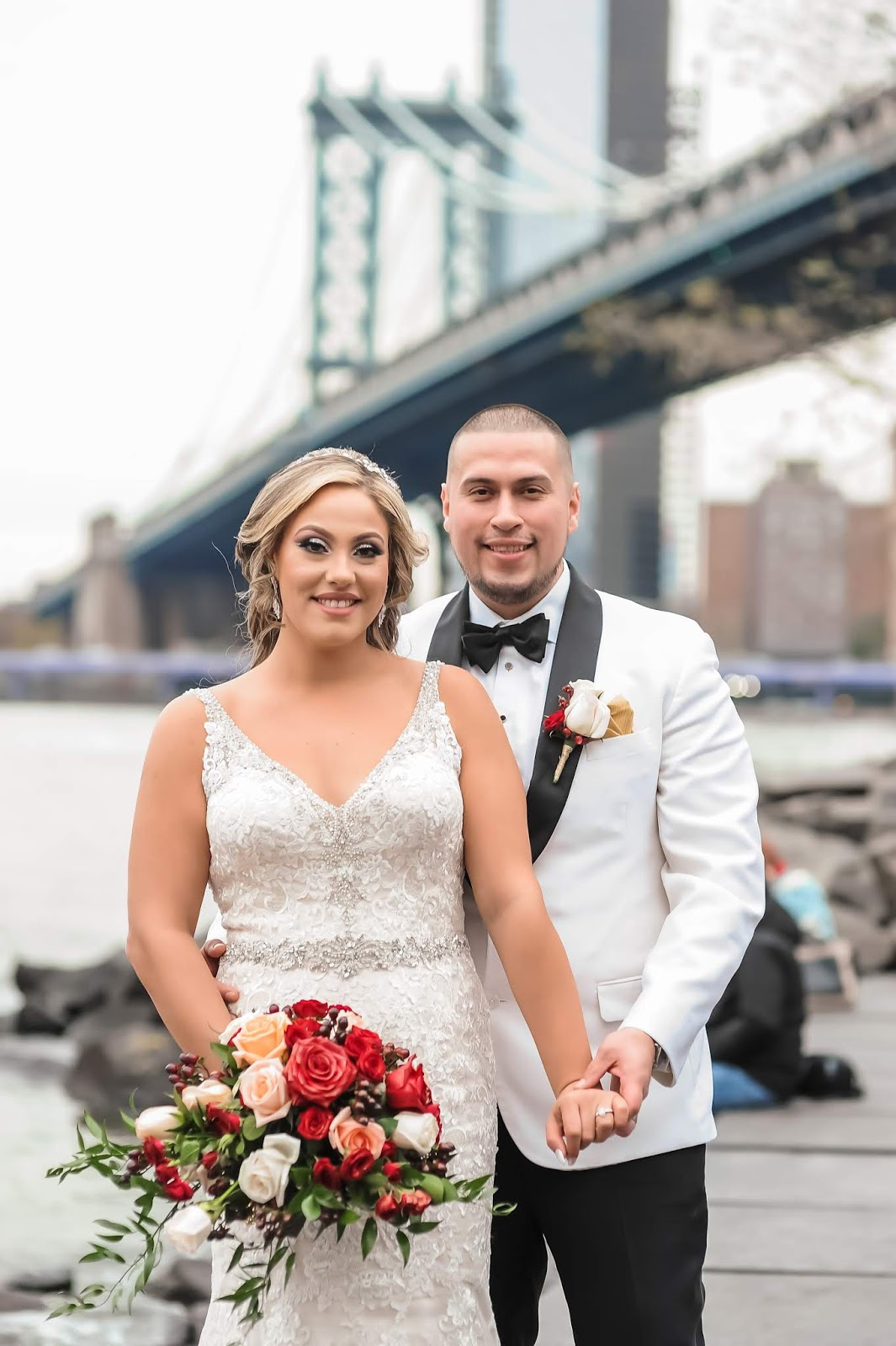 Beautiful Brooklyn Bridge Wedding Photography