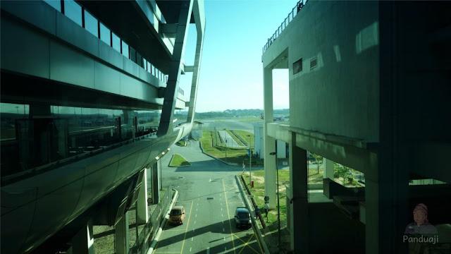 Salah satu sudut Bandara KLIA 2