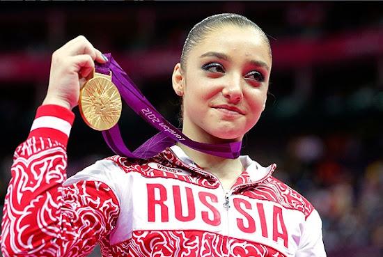 Beautiful Aliya Mustafina in London Olympic 2012