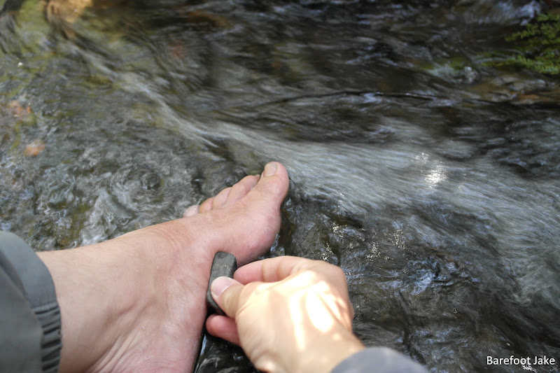 backpacking foot care