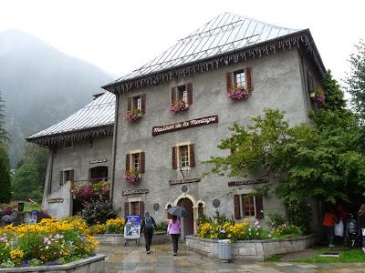 シャモニー 山の家