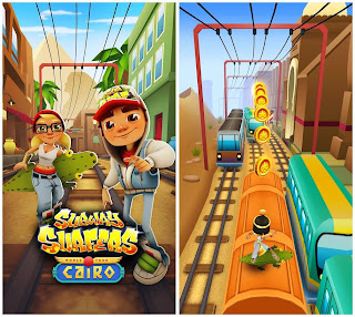 Free download official game Subway Surfers for Android .apk full + Data