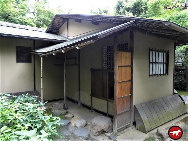 Maison de thé du jardin de Kennin-Ji à Kyoto