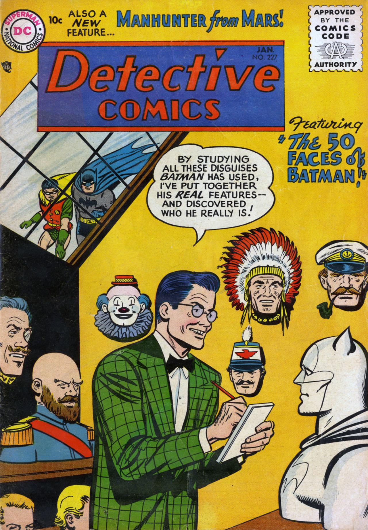 Read online Detective Comics (1937) comic -  Issue #227 - 1