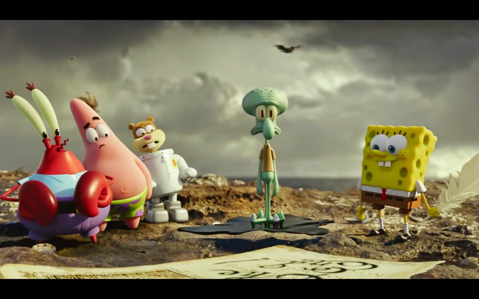 movie review the spongebob movie sponge out of water 2015
