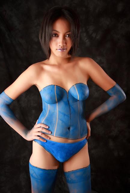 body paint pics