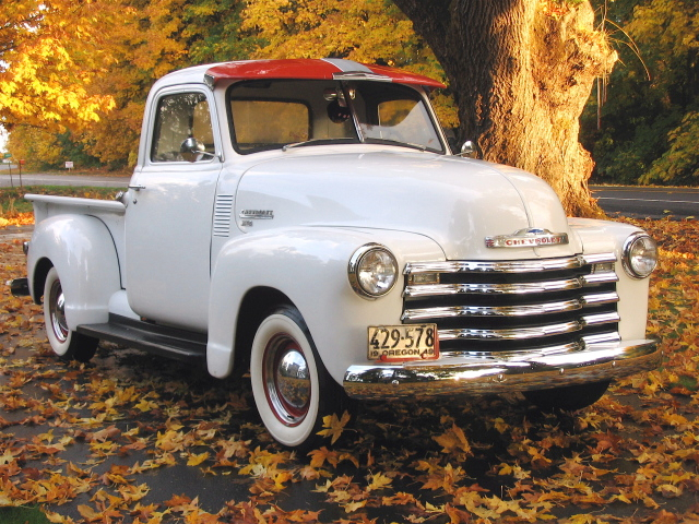 Wiring Diagram Schematic Komplette Wiring Diagram Von 1950 1951 Chevrolet Pickup Trucks