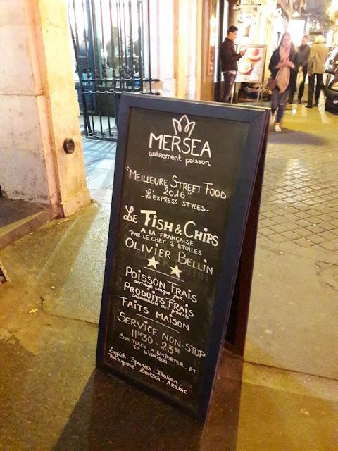 Mersea restaurant paris 75009 bonne adresse fish and chips
