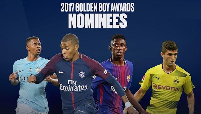 Los 25 candidatos al Golden Boy 2017