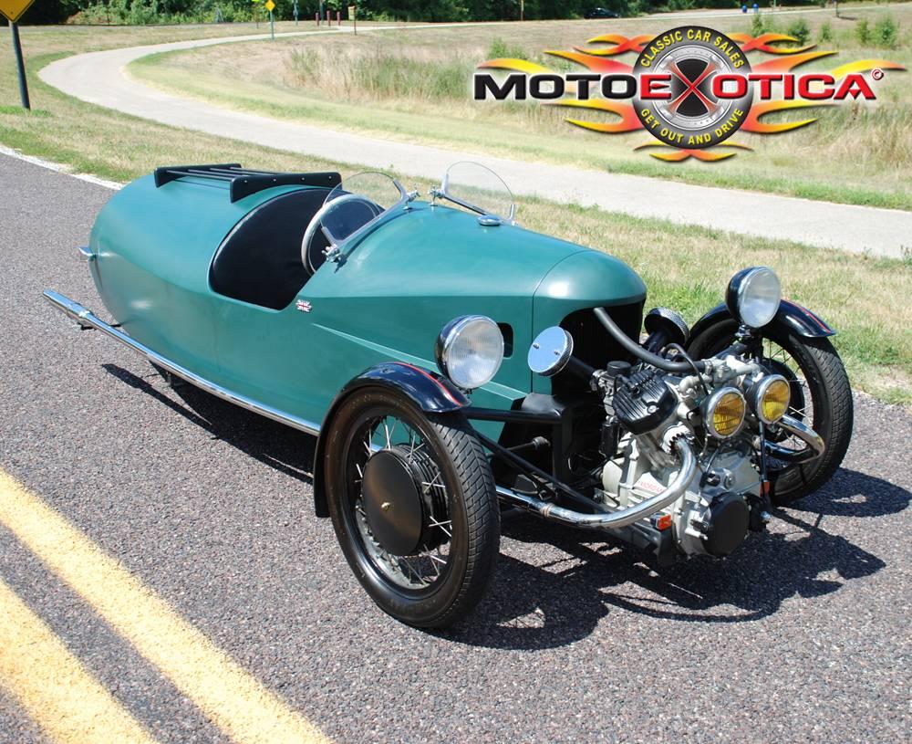 10k 1980 Morgan 3 Wheel Tribute Replicycle Dailyturismo