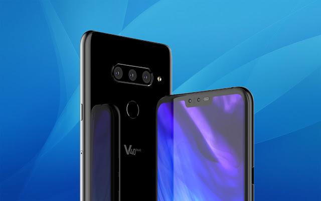 سعر ومواصفات هاتف LG V40 ThinQ الجديد مع خمس كاميرات !