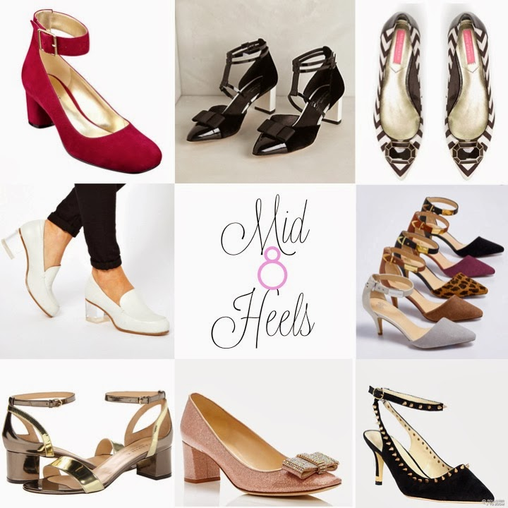 Kitten Heels, Mid Heels, Low Heels, Comfortable Cute Shoes