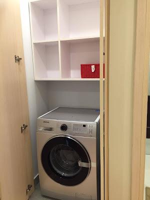 khu để máy giặt