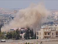 Hari Jumat, Pesawat Rezim dan Rusia Hujani Aleppo dengan 40 Serangan