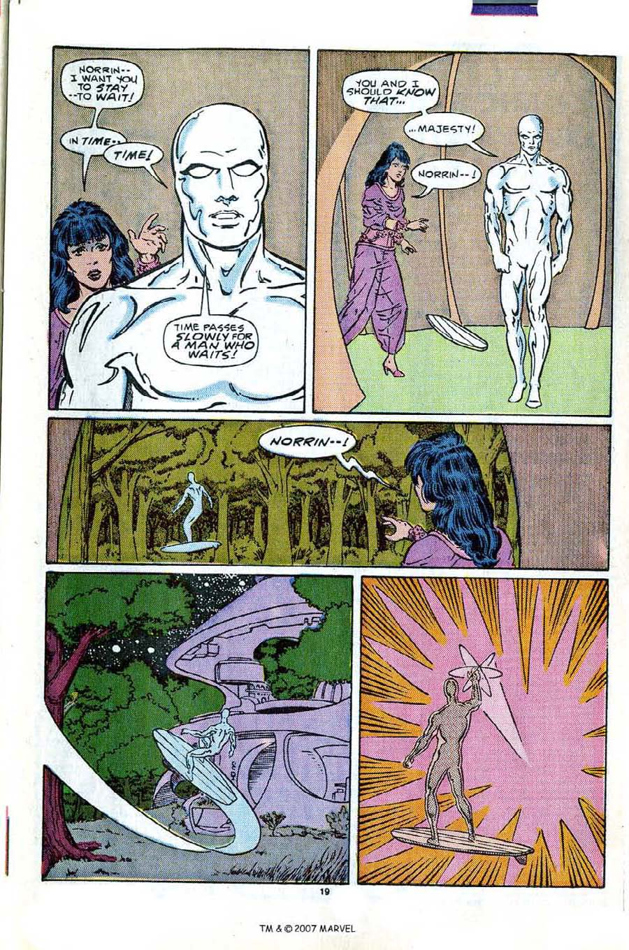 Read online Silver Surfer (1987) comic -  Issue #2 - 27