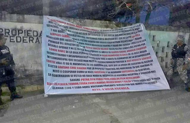 """""""Pónganse v..rga que vamos por ustedes"""", Zetas Vieja Escuela amenaza a gobernador"""