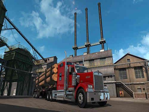 American Truck Simulator Oregon Game Free Download