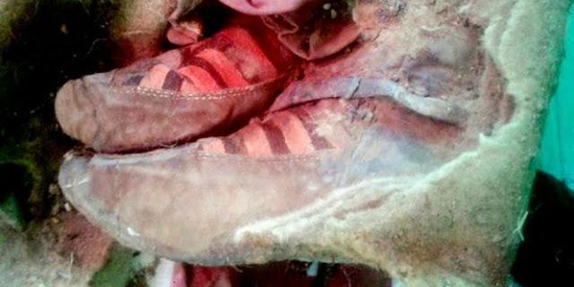 Ilmuwan Heran, Mumi Berumur 1500 Tahun Di Kawasan Ini Memakai Sepatu Modern