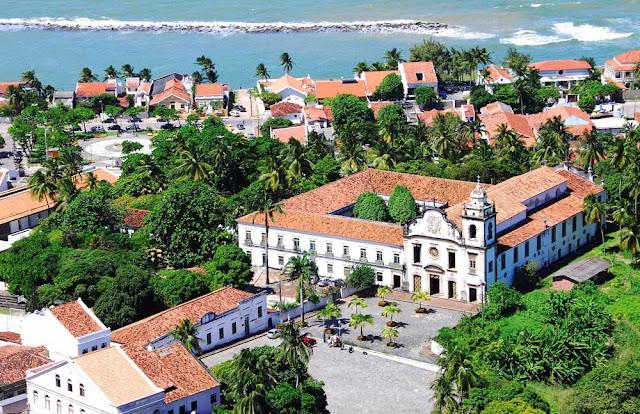 Mosteiro de São Bento, vista do mirante do Alto da Sé
