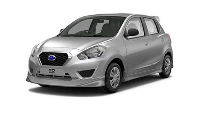 Datsun Go - Silver