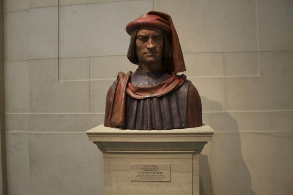 Lorenzo de Medici Sculpture, National Gallery of Art, NGA, DC Museums, Museum Hack Tour, Museum Hack National Gallery of Art Tour