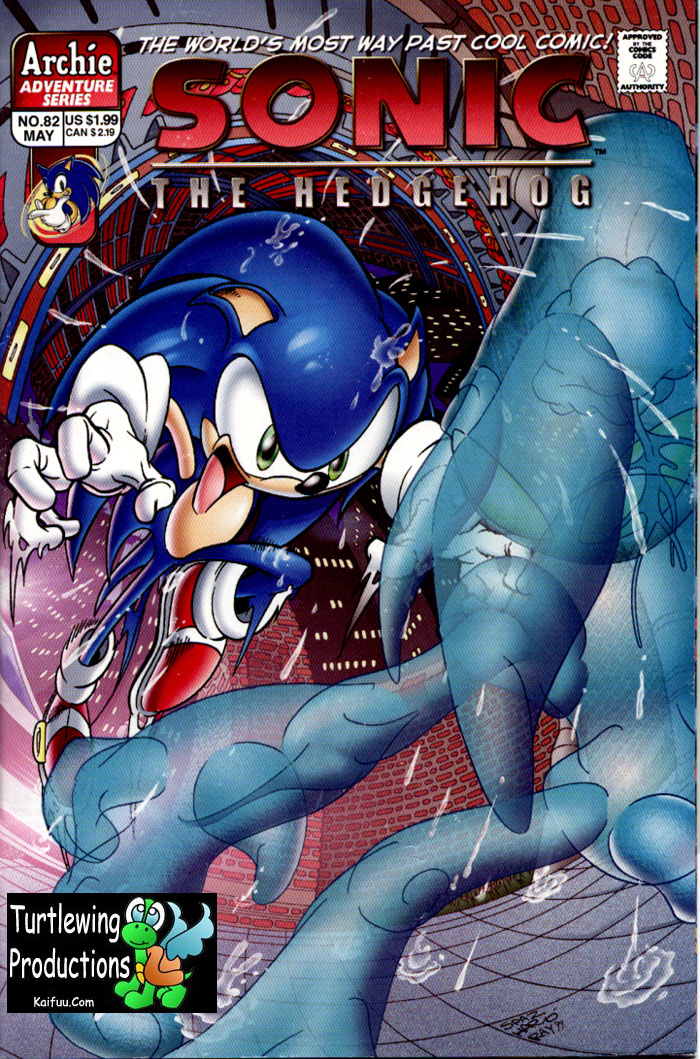 Read online Sonic The Hedgehog comic -  Issue #82 - 1