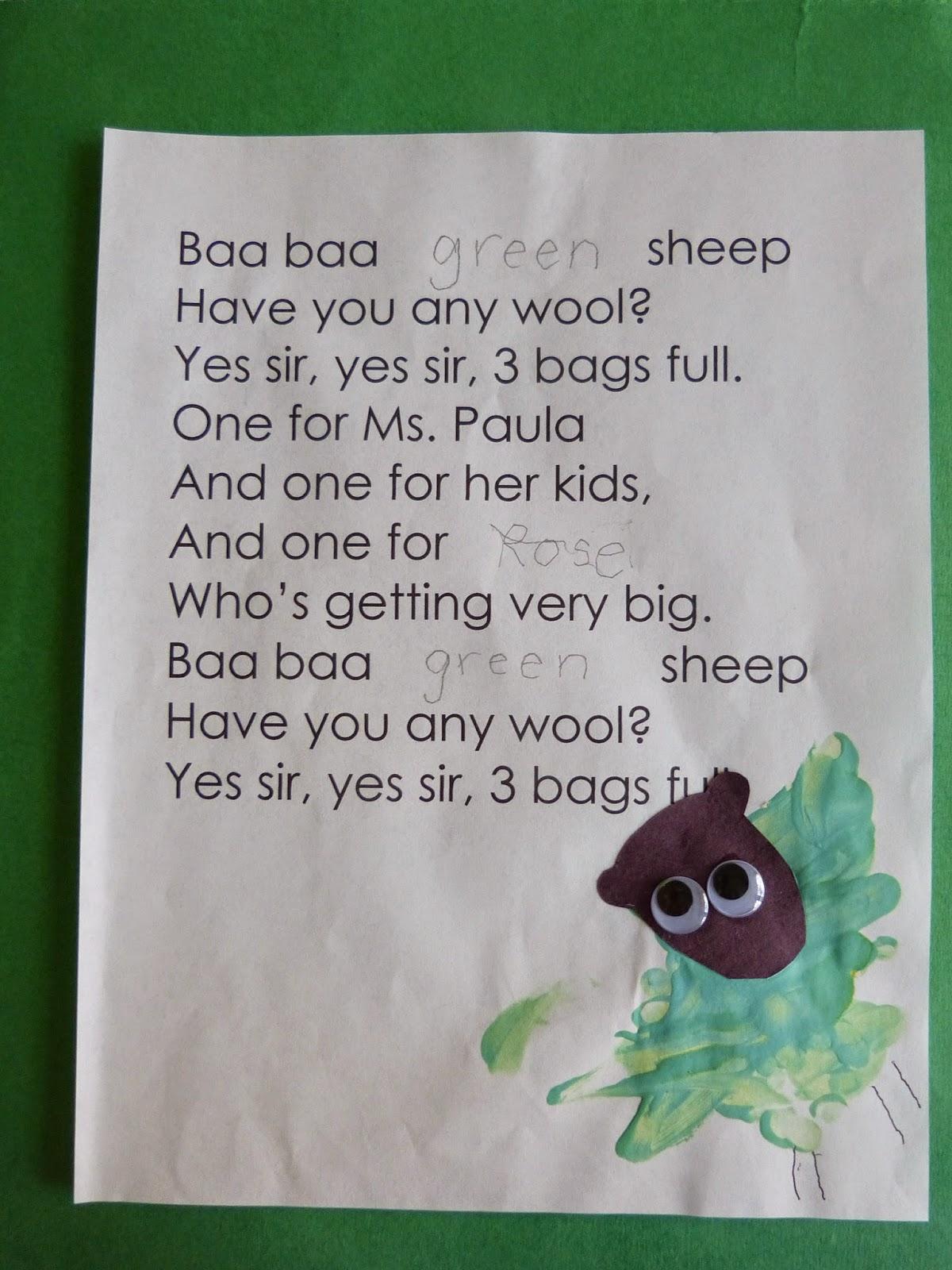 Paula S Primary Classroom Nursery Rhymes