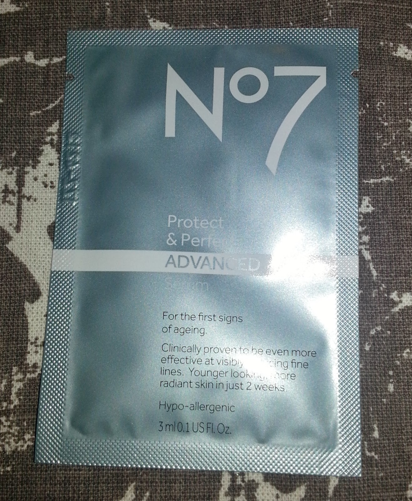 No7 Protect and Perfect Advanced Serum