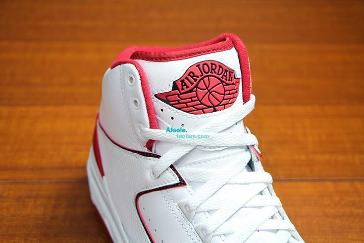 984a49d790d109 Air Jordan 2 Retro – White – Red