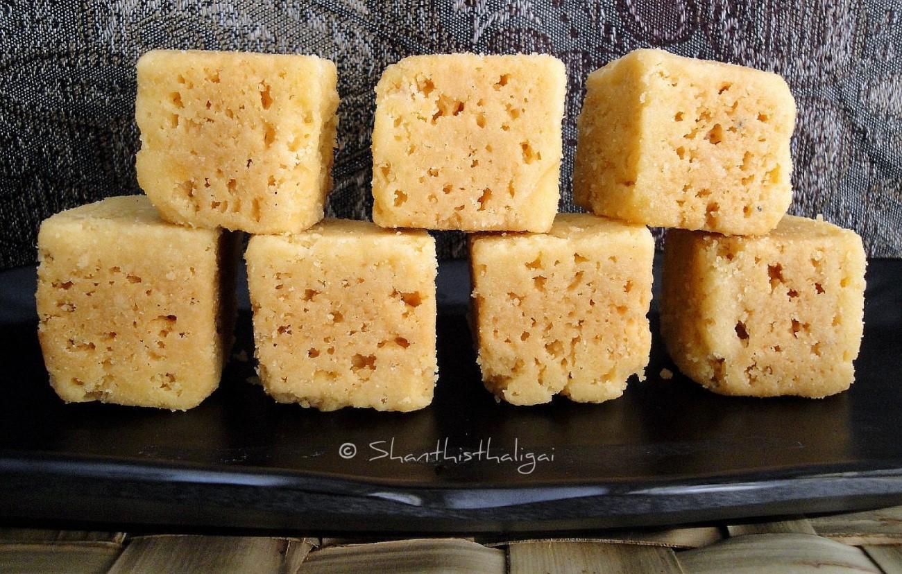 Mysore pak recipe easy homemade mysore pak recipe