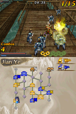 Dynasty Warriors DS: Fighter's Battle screenshot 2