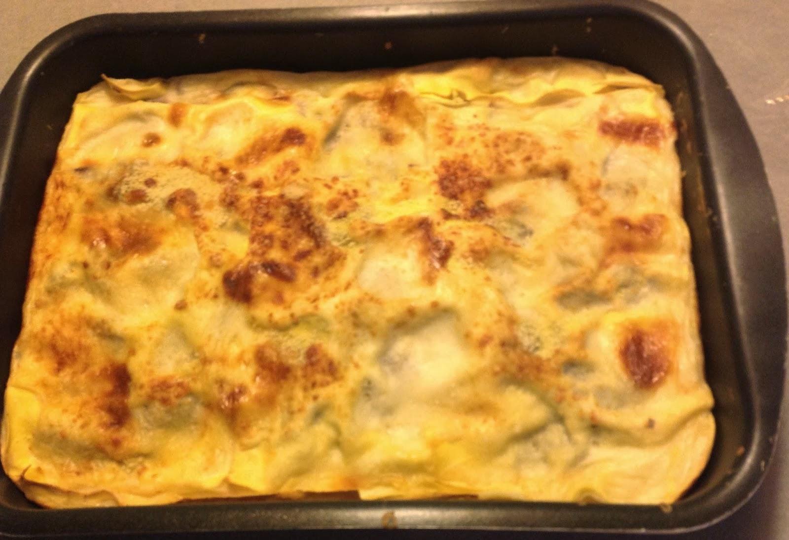 Imparando a cucinare lasagne radicchio taleggio e speck for Cucinare definizione