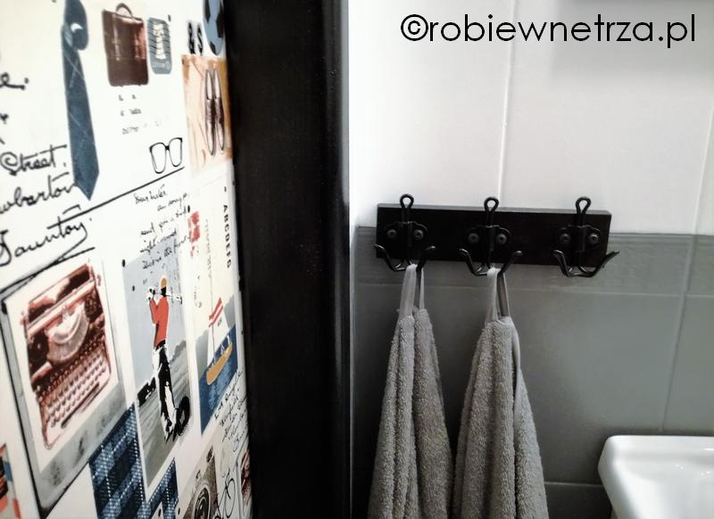 Robię Wnętrza Zrob To Sam Czyli Wieszak Do łazienki Kuchni Pokoju