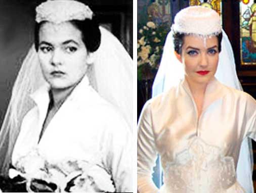 Maysa cantora vestido de noiva com casquete