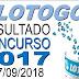 Resultado da Lotogol concurso 1017 (27/09/2018) ACUMULOU!!!