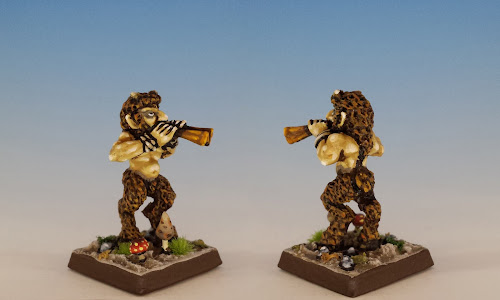 Talisman Satyr, Citadel Miniatures (1986, sculpted by Aly Morrison)