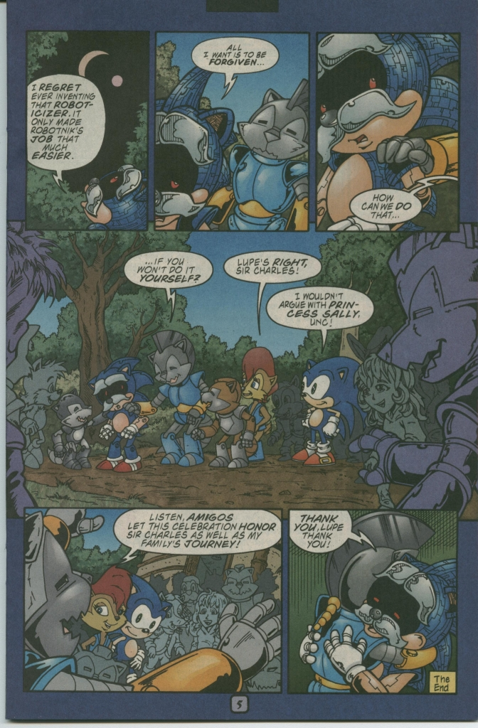 Read online Sonic The Hedgehog comic -  Issue #112 - 31