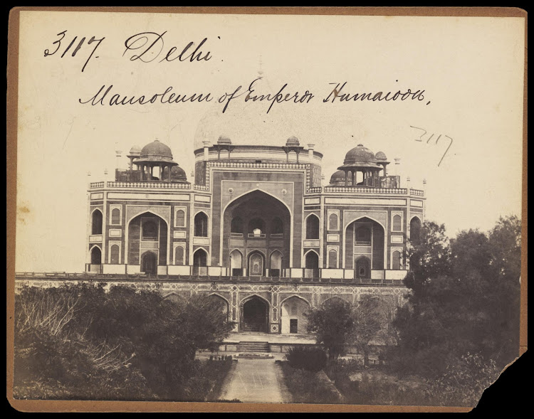Mughal Emperor Humayun's Tomb - Delhi, Mid 19th Century