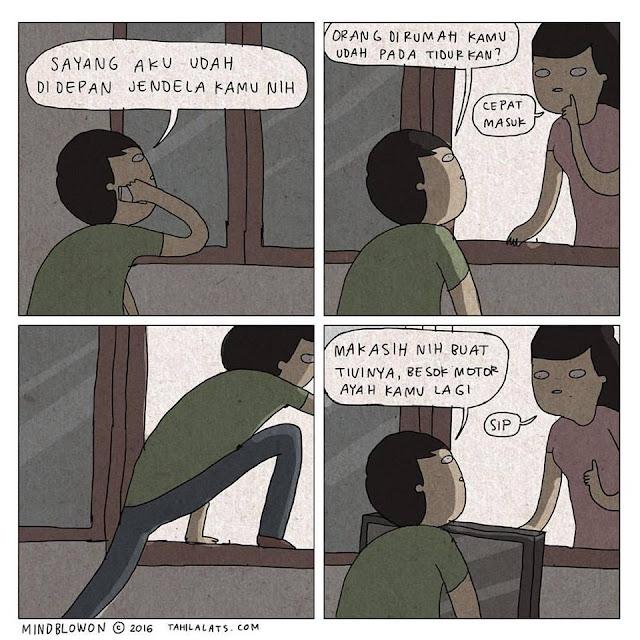 Kumpulan Komik Strip Lucu Tahilalats #7