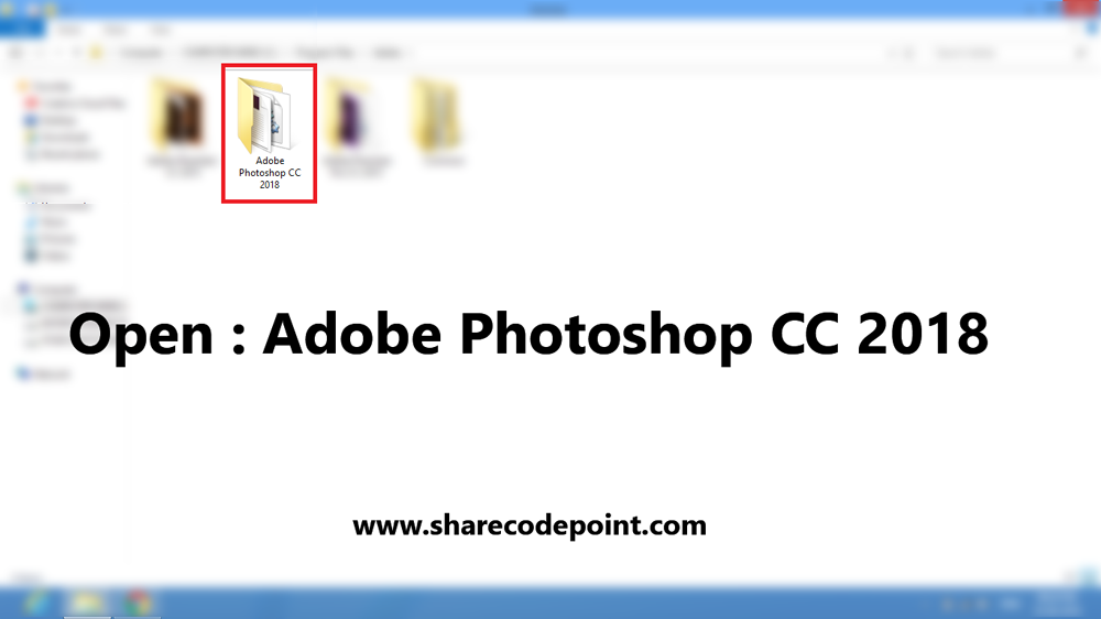 How to open Photoshop with trial version expired with Graphical step