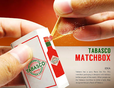 Tabasco Matchbox